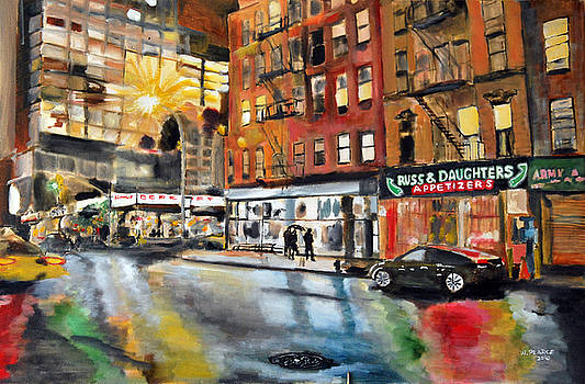 Russ and Daughters by Wayne Pearce
