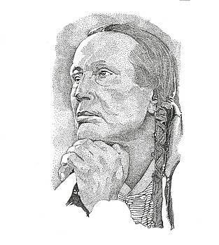 Russell Means by Clayton Cannaday