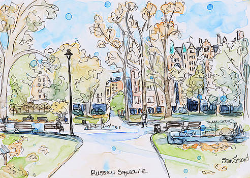Russell Square by Shaina Stinard
