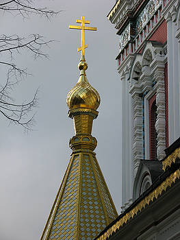 Russian Church Dome by Iglika Milcheva-Godfrey