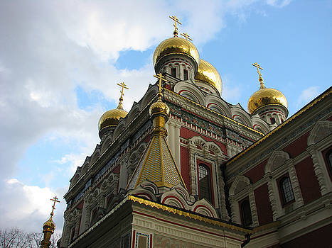 Russian Church Domes by Iglika Milcheva-Godfrey