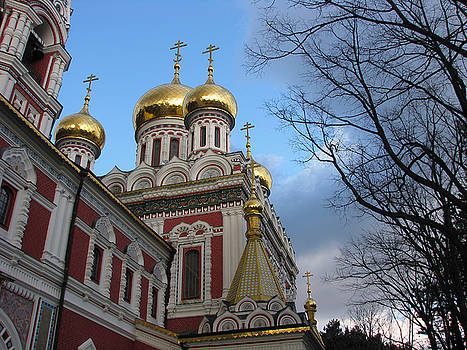 Russian Church by Iglika Milcheva-Godfrey