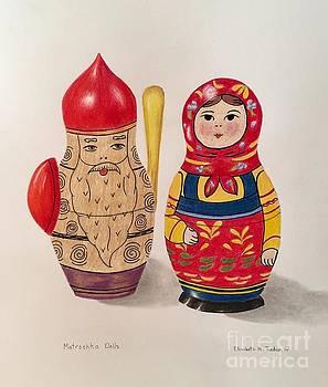 Russian Dolls by Elizabeth H Tudor