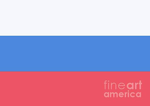 Russian Flag by Sonya Staneva