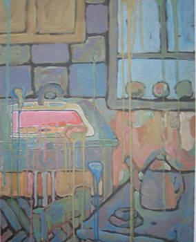 Russian Kitchen by Carl Stevens