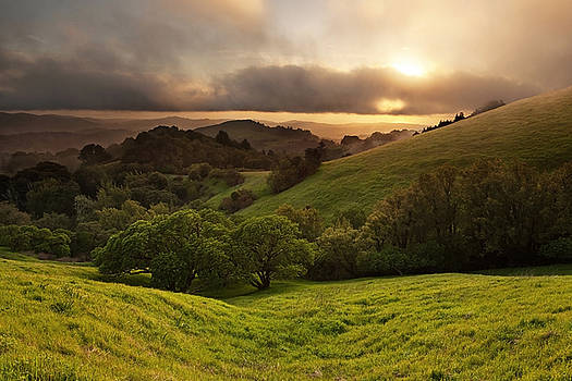 Russian Ridge on Easter Sunday by Matt Tilghman