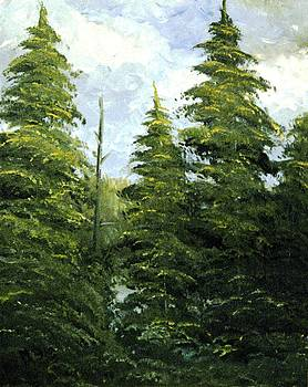 Russian woods by Eleonora Mingazova