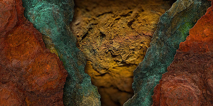 Rust Landscape 6 by WB Johnston