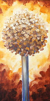 Rust Lollipop Tree by Shiela Gosselin