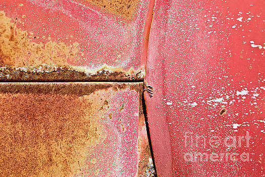 Rust Red and Peeling Paint by Glennis Siverson