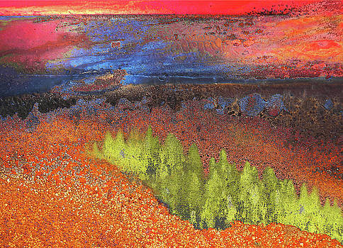 Rust sunrise by Paul Parsons