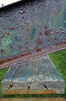 Rusted Bench by Lynn Vidler