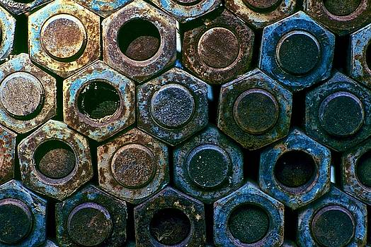 Rusted Bolts by Mansour Zadrafie
