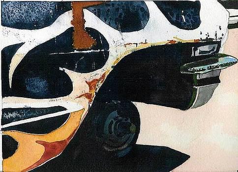 Rusted impala by Scott Mulholland