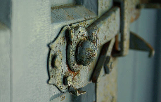 Rusted Latch by Lynn Vidler