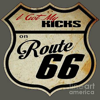 Rusted Route 66 by Paul Kuras