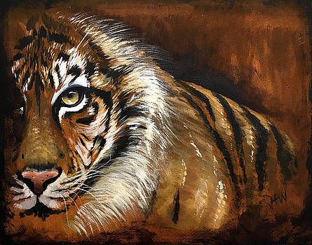Rusted Tiger by Holly Whiting