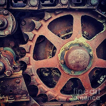 Gregory Dyer - Rusted Tractor Wheel