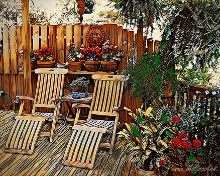 Rustic Deck by Pennie McCracken