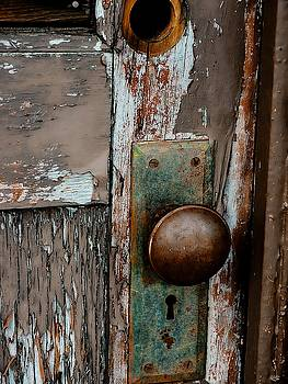 Rustic Door by Marcie Adams