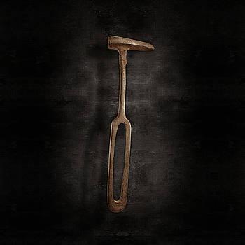 Rustic Hammer on Black by YoPedro