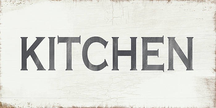 Rustic Kitchen Sign- Art by Linda Woods by