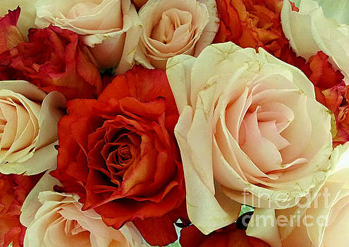 Rustic Rose Bouquet by Margaret Newcomb