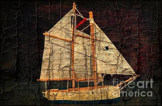 Rustic Sailboat by Michael Moriarty