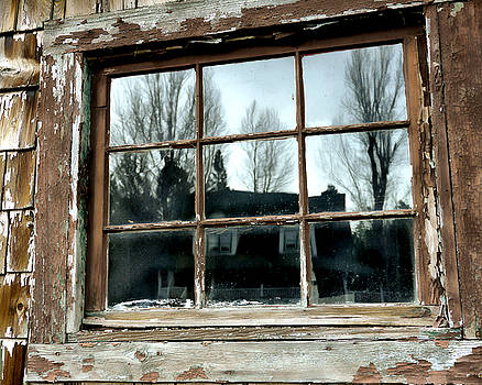 Rustic Window by Marcie Adams