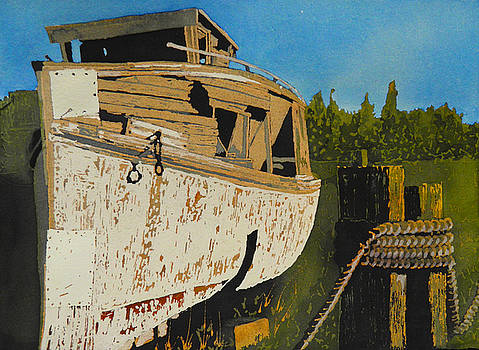 Rusting Away by Terry Honstead