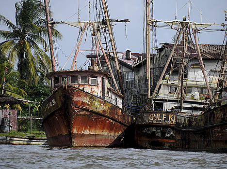 Rosa Diaz - Rusting Fishing Boats
