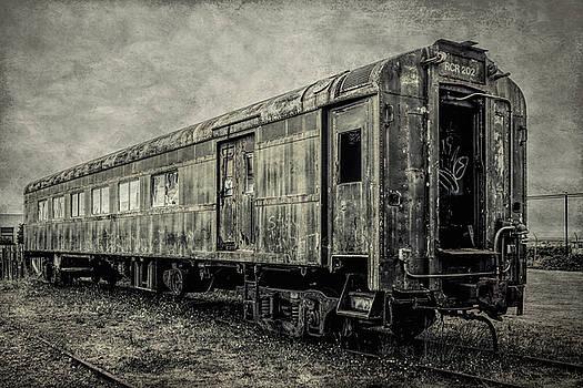 Rusting Passenger Car Ft Bragg by Garry Gay