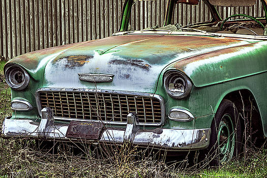 Rusty 55 Chevy by William Havle