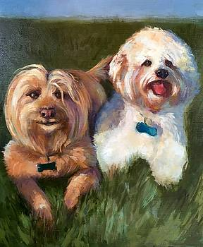 Rusty and Patches by Cynthia Mozingo