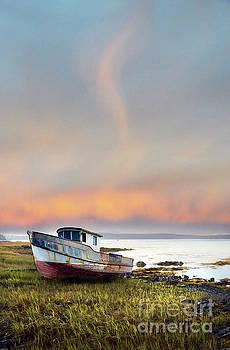 Jill Battaglia - Rusty Boat Maine Coast
