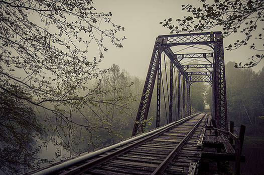 Rusty Bridge by William Schmid
