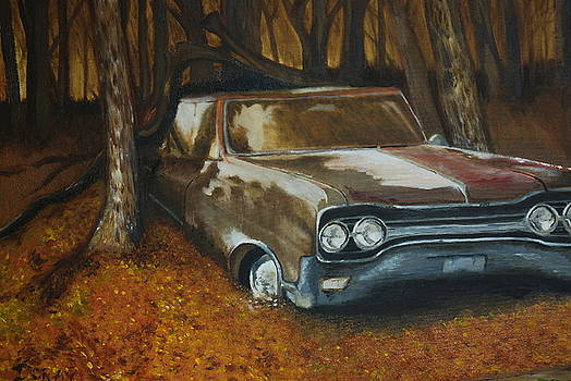 Rusty Car by Ryan Doray