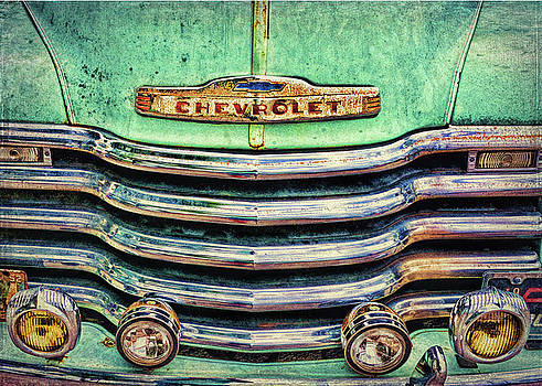 Rusty Chevy by Lewis Mann