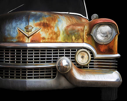 Rusty Classic Cadillac by Steven Michael