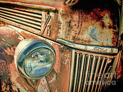 Rusty Ford by David Lane