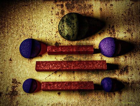 Rusty geometries by Ramon Martinez