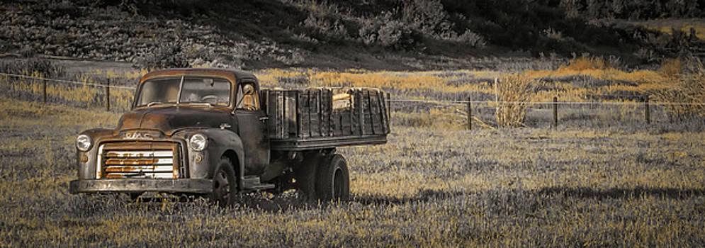 Rusty GMC by Don Schwartz