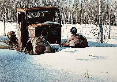 Rusty in Alberta by Robert Hinves