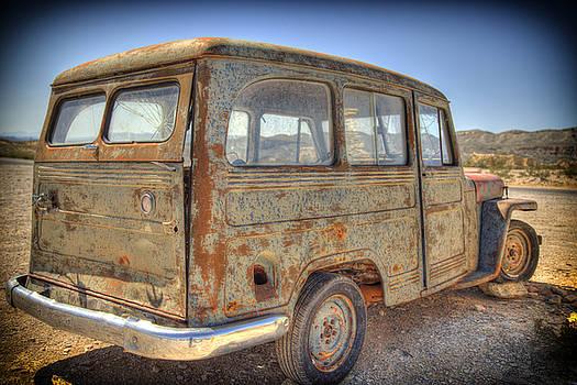 Bonnie Davidson - Rusty Jeep-type Car