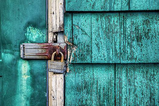 Rusty Latch by Steve Gravano