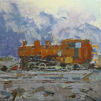Rusty Loco by David Gilmore