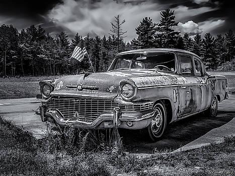 Rusty Old Studebaker by Ken Morris