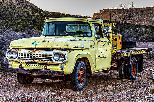 Rusty Old Work Truck by James Marvin Phelps
