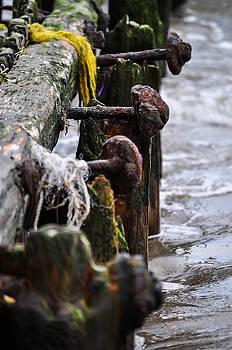 Rusty pier by Terepka Dariusz