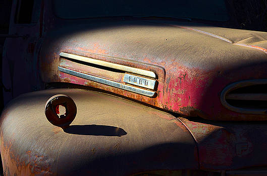 Rusty Red Ford by Mike Hendren